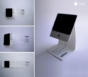 iMac-visitekaartje